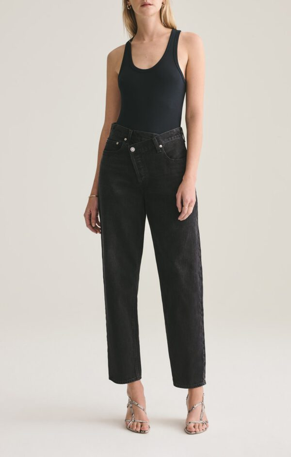 Criss Cross Jeans, Agolde, Black Wash