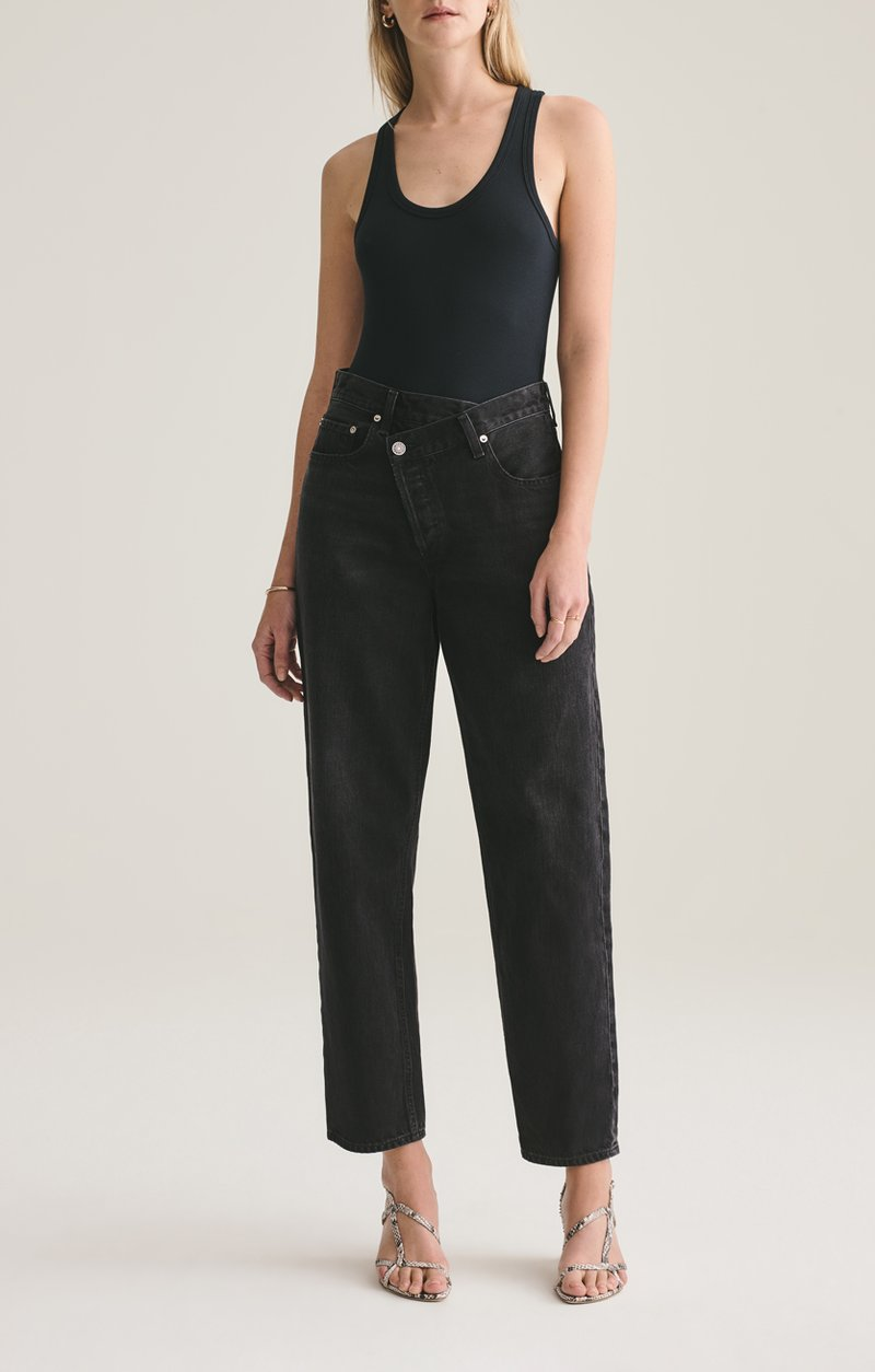 Criss Cross Jeans, Agolde, Black Wash