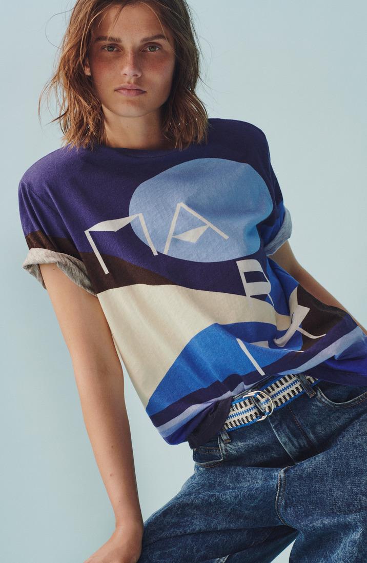Zaffim, Unisex, T-Shirt, Isabel Marant