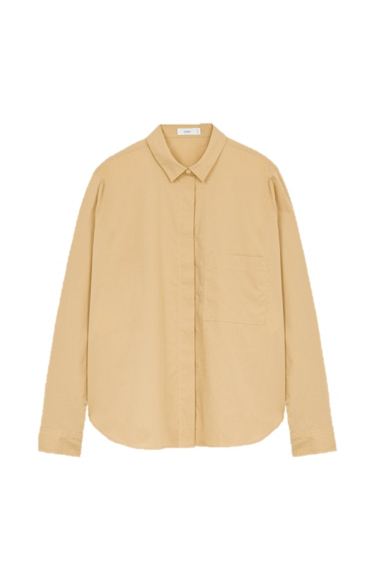 Bluse, Close, Hailey, camel