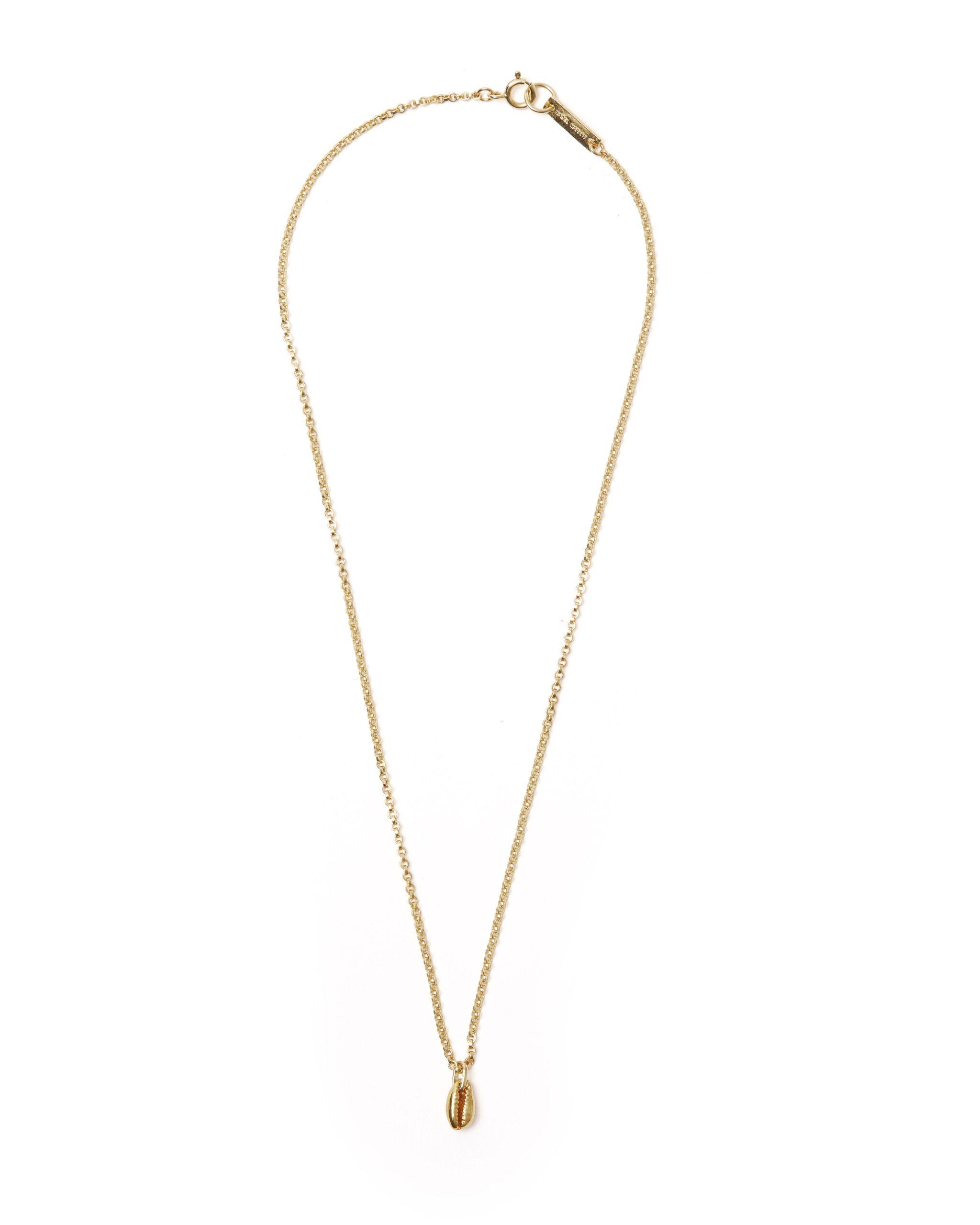 Halskette, Amer, Isabel Marant, Gold, Muschel